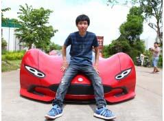 Chinês constrói carro elétrico com R$ 15 mil